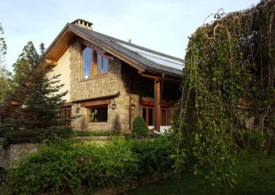 Vista exterior Casa Bonita Navacerrada