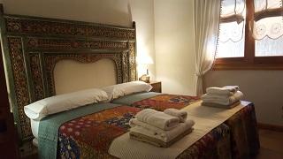 Interior habitación 2 Casa Bonita Navacerrada