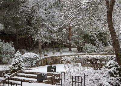 Jardín nevado 2 Casa Bonita Navacerrada