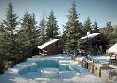 cabañas Navacerrada nevadas